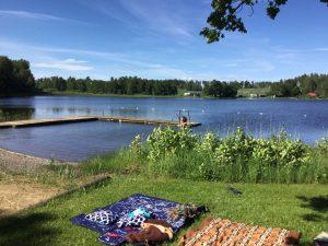 Avslappning sol och bad